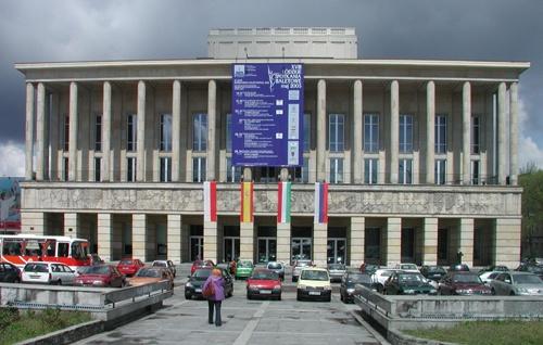 Grand Theater in Lodz