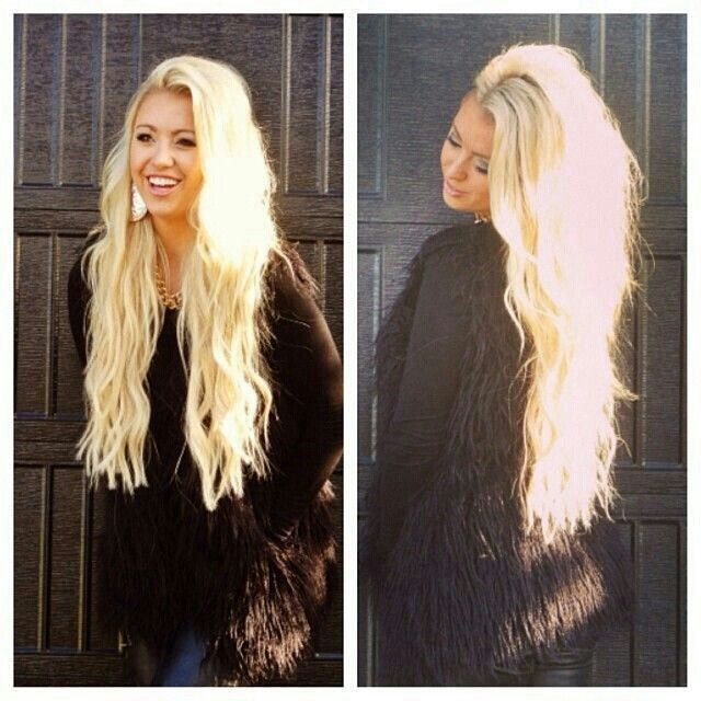 10 best blonde hair images on pinterest blondes braids and long blonde hair hopefully i can get back to this length miss my super long hair pmusecretfo Choice Image