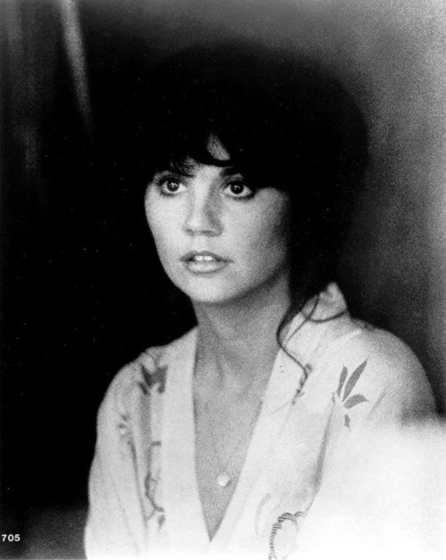 I just think Linda Ronstadt is so gorgeous.