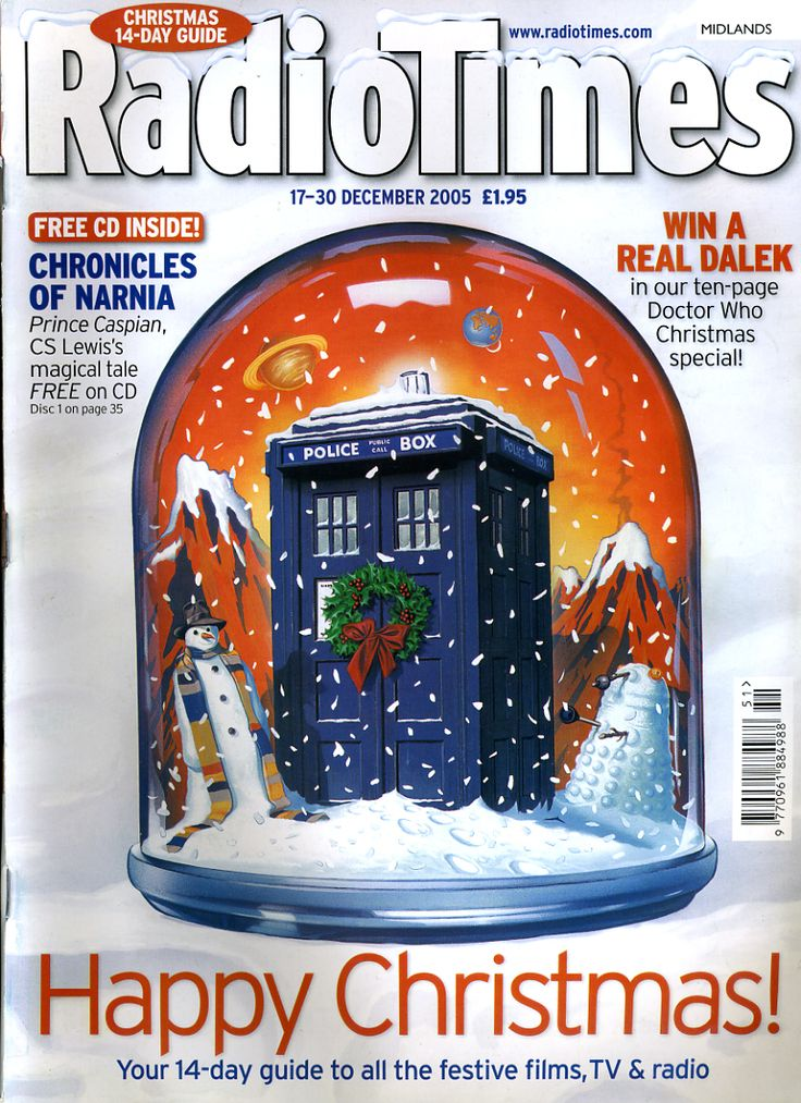Door #23 - One of the more iconic covers in recent years, with a TARDIS snowglobe standing in for the now ususal Santa/Snowman antics