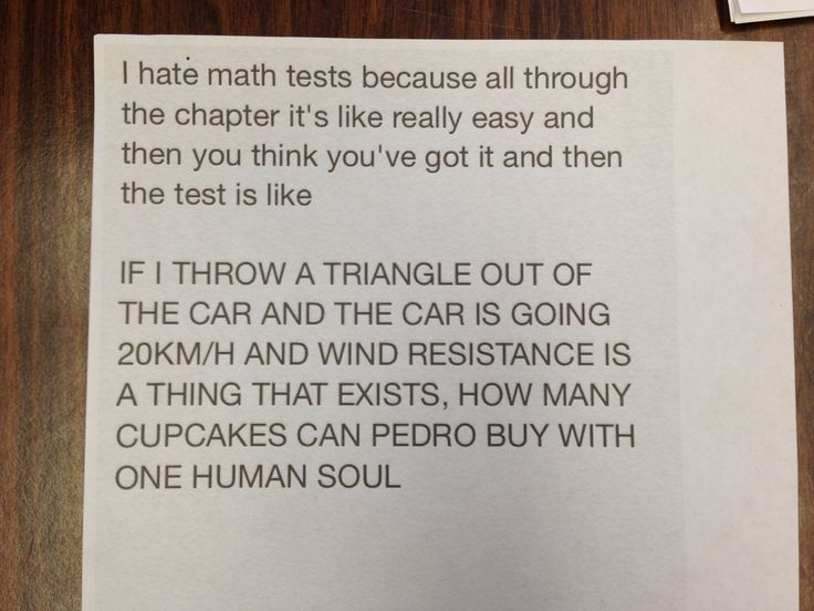 This hilarious note posted on a maths teacher's door will have you nodding in agreement - Mirror Online