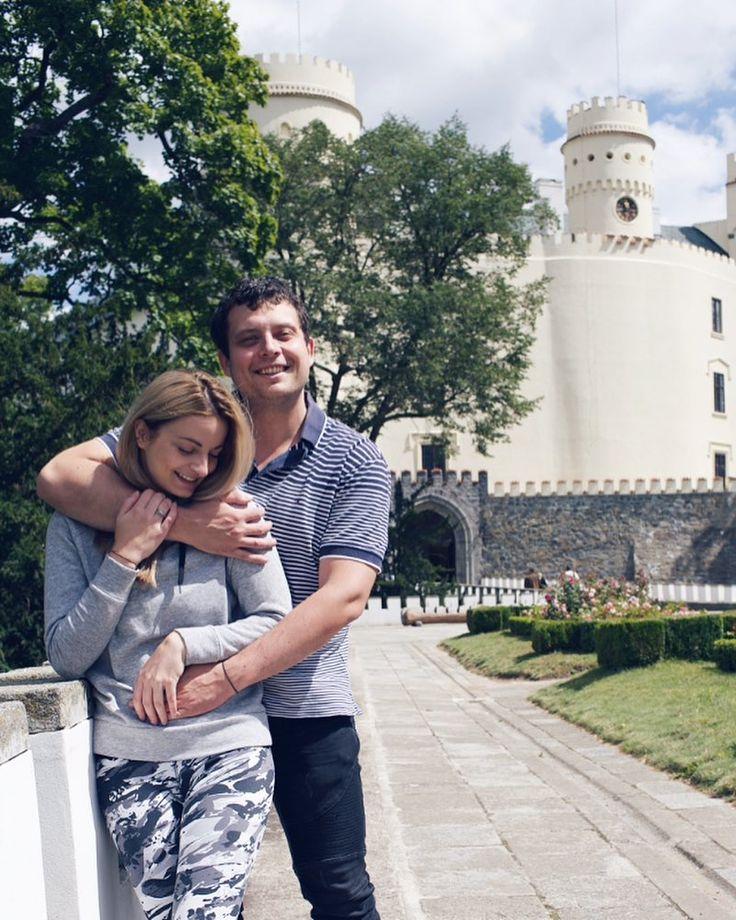 Happiness  #love #mylove #happiness #happy #couple #couplegoals #castle #trip #czech #czechia #czechrepublic #beauty #beast #blondie #inlove #orlik #l4l #like4like #likeforlike