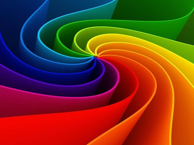 Abstract Rainbow Colours Wallpapers