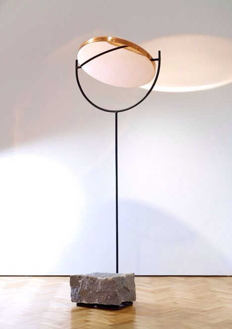 monolithic based copper lamp   lighting . Beleuchtung . luminaires   design conception  