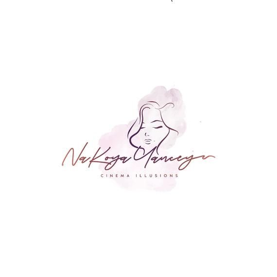 Custom Logo Beauty Logo Design Woman Face Logo Hair Salon Logo Hair Stylist Logo Make Up Logo Woman Fashion Logo Hand Drawn Logo Feminine Logo Design Women Hair Stylist Logo