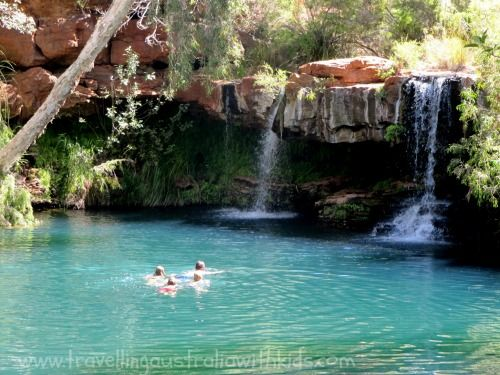 The Incredible Fern Pool, Karijini National Park - Walking distance from the Dales Camping Ground.