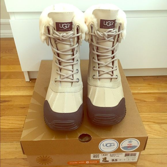 UGG Shoes - UGG Adirondack II Waterproof Boots- Never Worn