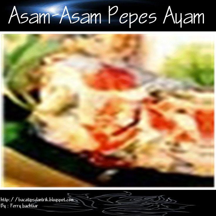 Asam-Asam Pepes Ayam