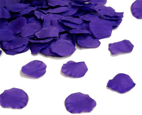 Silk Rose Flower Pedals Romantic Decor Purple 100pack -- Only $6.99 ** Free Shipping -- www.GadgetPlus.ca