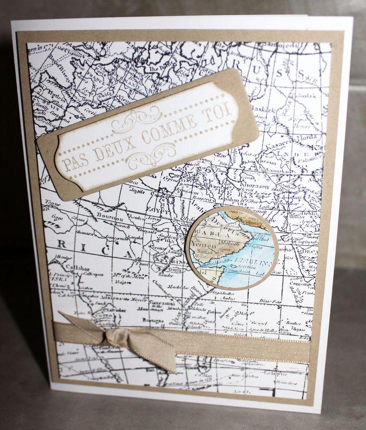 """carte """"Carte du Monde"""""""