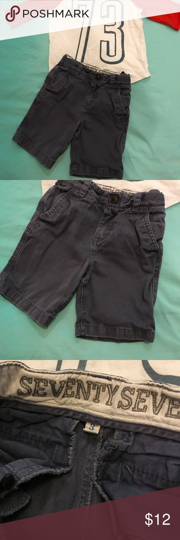 Boys Navy Chino Shorts Navy Chino Shorts -  Seventy Seven was the kids brand of American Eagle which is no longer in business  Size 3  Great Condition American Eagle Outfitters Bottoms Shorts