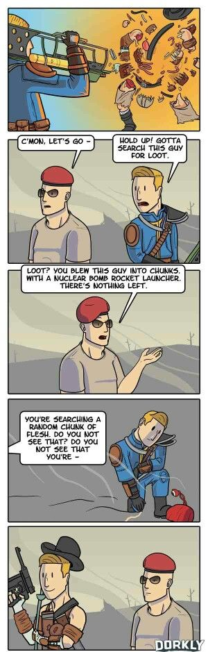 This. So much this. Can't wait for fallout 4 to splatter raiders in glorious hd!