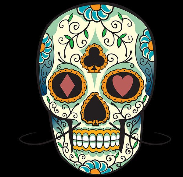sugar skull makeup for halloween want to pull off the perfect halloween look take inspiration from our mexican sugar skull makeup ideas and rock a truly - Mexican Halloween Skulls