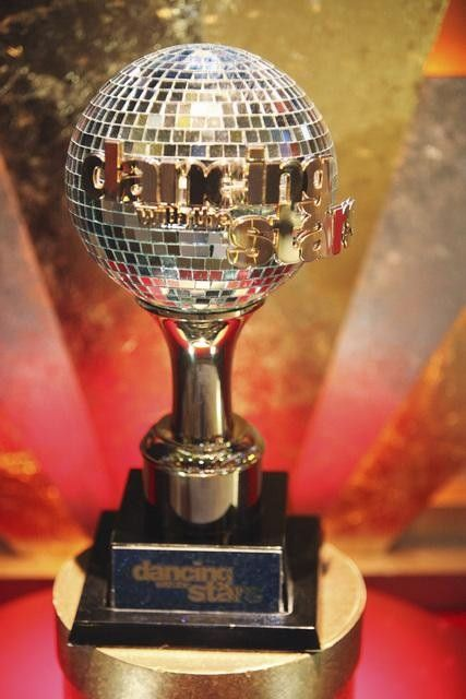 The Mirror Ball trophy from DANCING WITH THE STARS