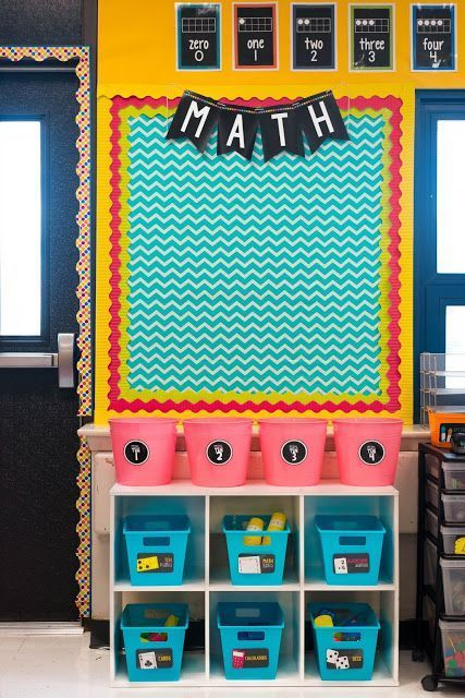 AMAZING Classroom organization and decor!