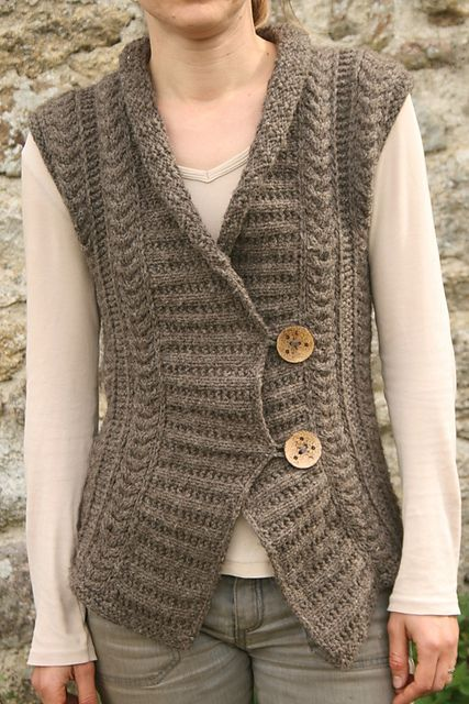 Knitting Vest Pattern Free : Best knit free cardigans jackets images on pinterest