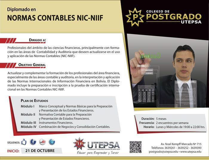 UTEPSA - Diplomado en Normas Contables NIC-NIIF