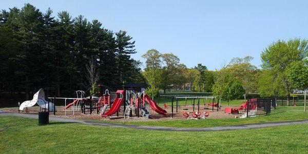 Amesbury Town Park Playground & Splash Pad