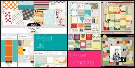 the difference between Project Life and pocket scrapping