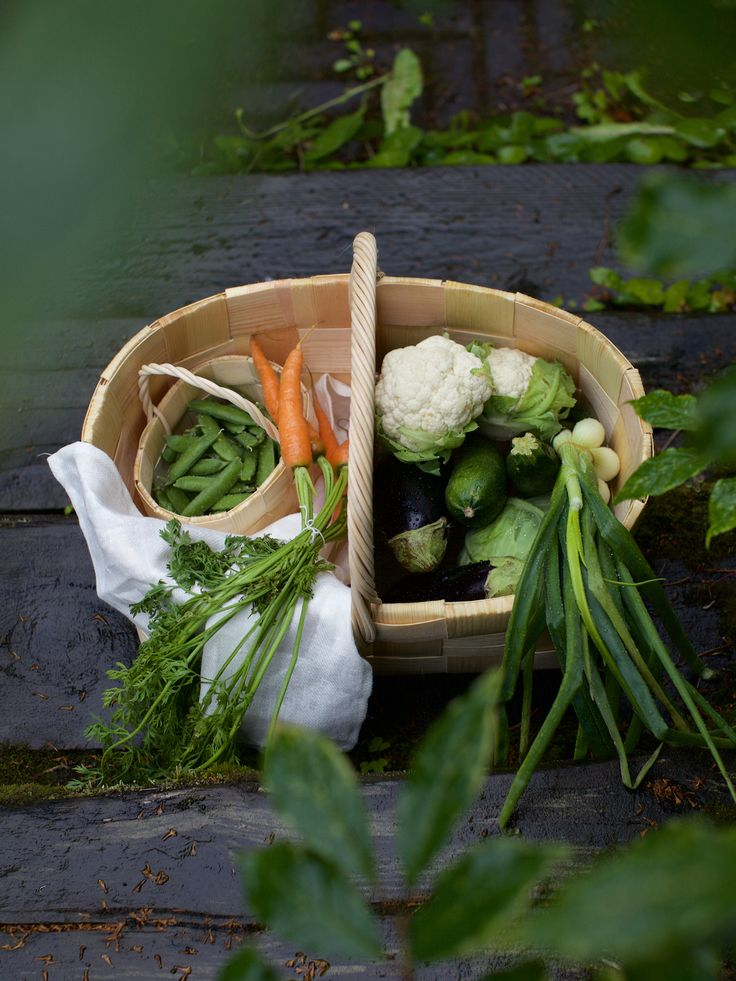 Fresh seasonal vegetables in Päre Kori