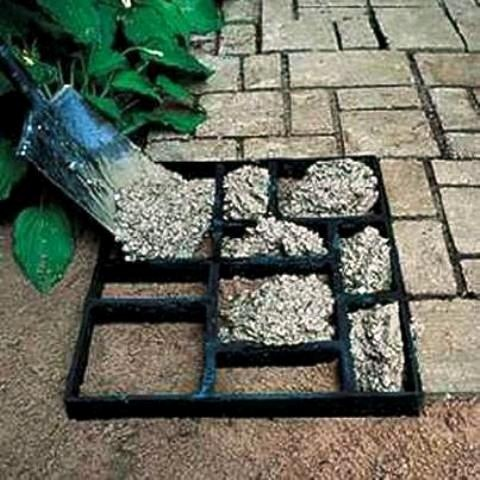 Do it yourself - easy way ... garden path