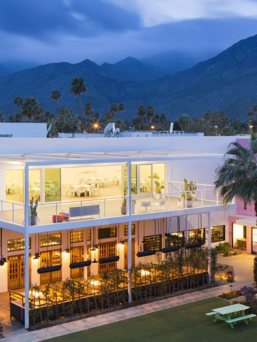 The Saguaro Palm Springs A Colorful Boutique Hotel In California Located Coachella Valley Amongst Beautiful Mountains Enjoy