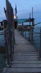Trabocco, and Trabocchi coast, Unesco site, Abruzzi, Italy