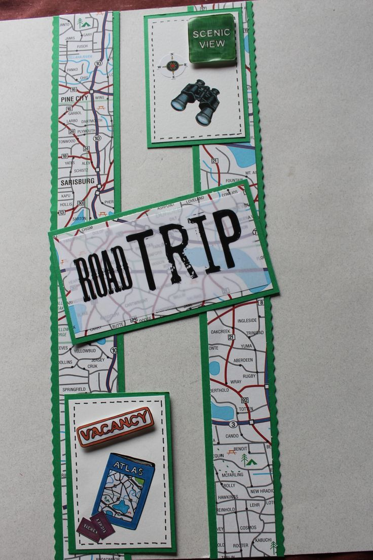 Scrapbook ideas new orleans - Scrapbook Travel Layouts