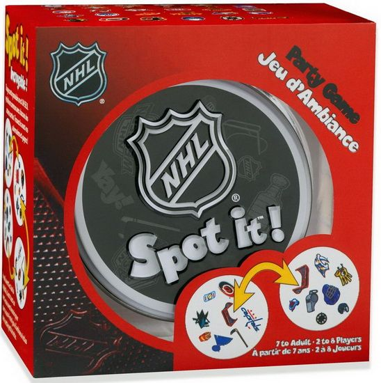 Spot it ! NHL - Board and strategy games - GAMES-TOYS - Renaud-Bray