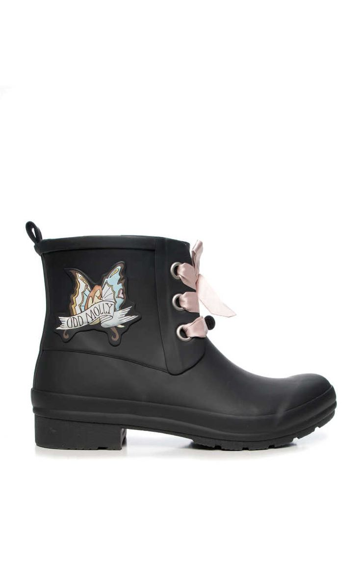 Stövel Low Tide Rainboot ALMOST BLACK - Odd Molly - Designers - Raglady