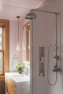 Exposed Shower Fixture Design Ideas, Pictures, Remodel, and Decor - page 2
