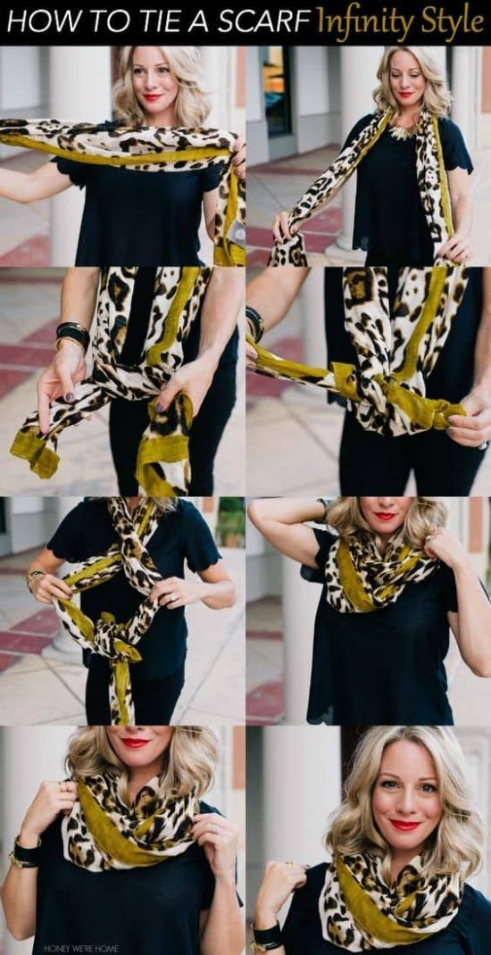 How To Tie Scarf On Neck All The Best Ideas Video Tutorial