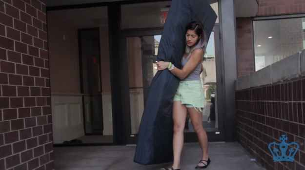 This College Student Will Carry A Mattress To Class Every Day Until Her Alleged Rapist Leaves Campus
