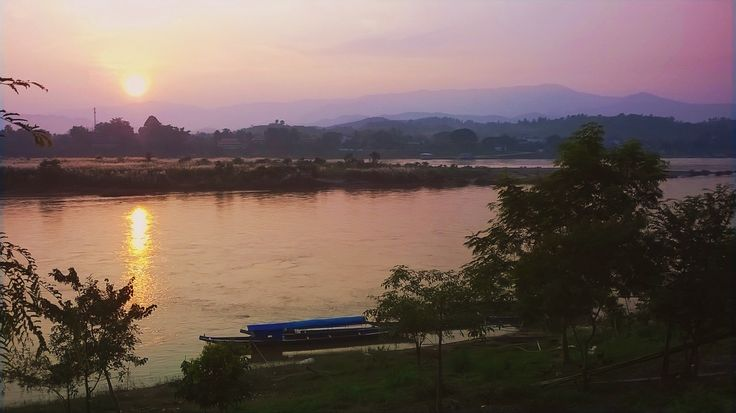 Chiang Khong , Chiangrai, Thailand
