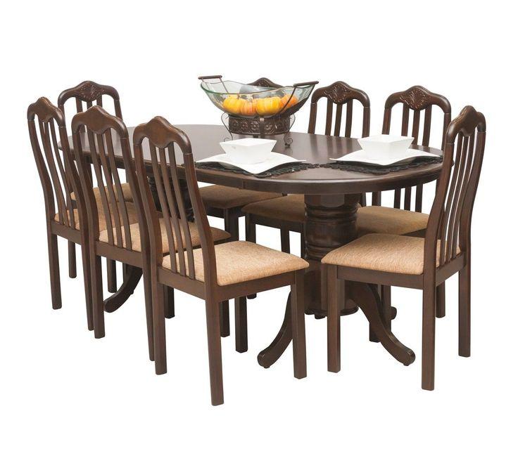 Commodity juego de comedor wellington madera mesas y - Comedores altos modernos ...