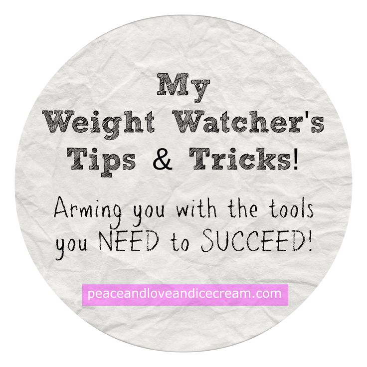 Peace, Love and Ice Cream!: My Weight Watcher's Tips and Tricks. These tips will arm you with the tools you need to succeed! These tips and tricks will help you succeed in any healthy lifestyle - doesn't have to be only for the Weight Watcher's program....which isn't a diet, it's a lifestyle!