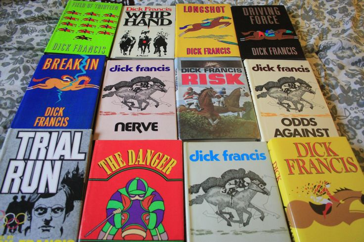 17 Dick Francis Hardback books by TheKindLady on Etsy