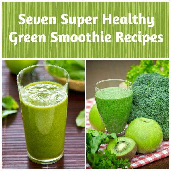 Seven Nutribullet Green Smoothie Recipes. These are super healthy and ...