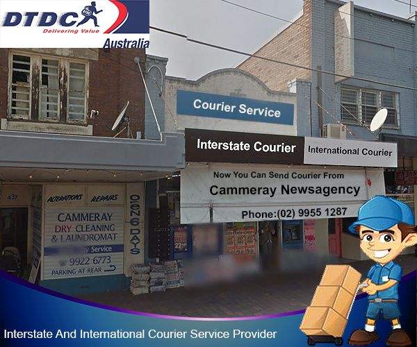 DTDC Australia - The Most Reliable Courier Service Provider Now in Cammeray! Now #Interstate & #InternationalCourierService Available at #CammerayNewsagency. Book Now www.dtdcaustralia.com.au