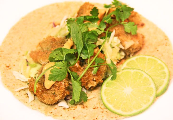 Thai Sweet and Spicy Shrimp Tacos | Yum :) | Pinterest