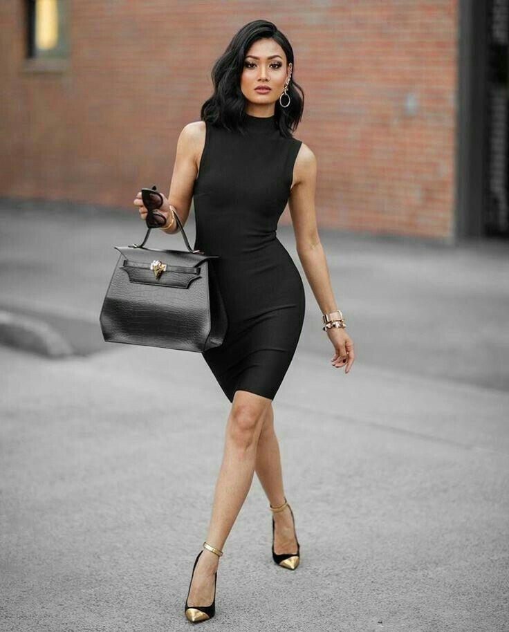 28 besten All Black... ❤ Bilder auf Pinterest   Schwarze outfits ...