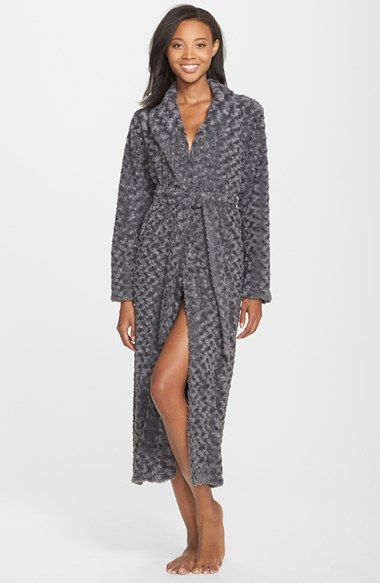 Nordstrom Textured Plush Robe available at #Nordstrom
