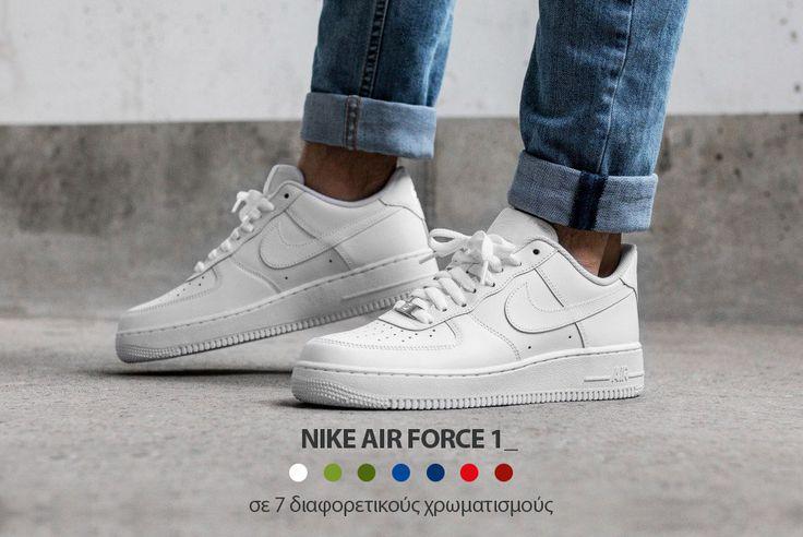 Ο θρύλος ζει στο ανδρικό παπούτσι Nike Air Force 1, μια σύγχρονη εκδοχή του εμβληματικού #AF1 που συνδυάζει το κλασικό στυλ με μοντέρνες λεπτομέρειες! ✈️