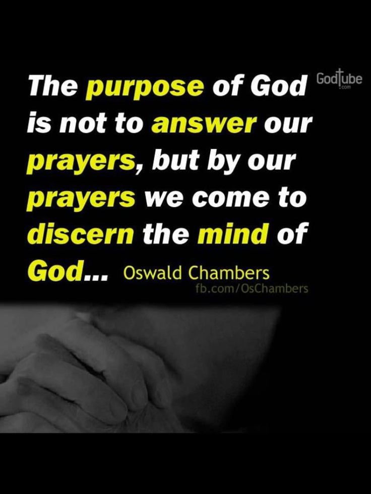 On prayer - Oswald Chambers