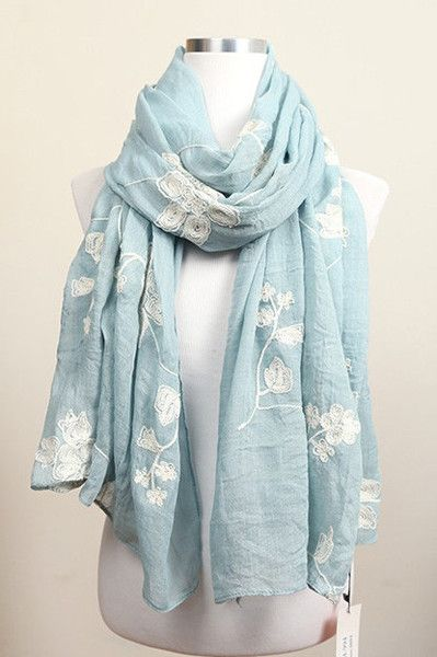 """A timeless elegant feminine chick scarf that anyone can rock this summer 35% VISCOSE, 65% POLYESTER70"""" L X 27"""" W"""