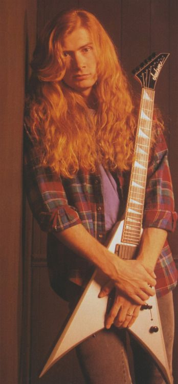 Dave Mustaine (June/1992/BURRN)