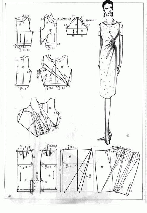 Chinese method of pattern making- Dresses, dresses,dresses ( beginning from the 80s) - SSvetLanaV - Picasa Web Albums
