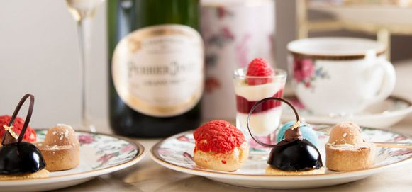 Afternoon Tea with Wedgwood (Monday - Friday) - -   Enjoy an exquisite selection of sweet and savoury tea time delights served on the finest Wedgwood china. Afternoon Tea with Wedgwood $55.00AUD