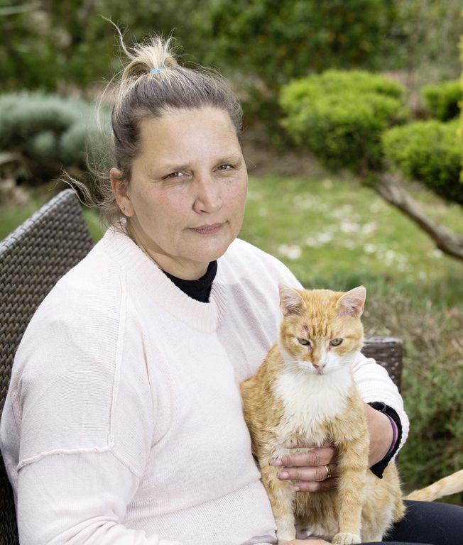 Carole Giraud a reçu Closer au terme d'une grève de la faim de 27 jours.