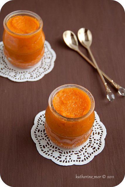 Wonderfully autumnal Pumpkin, Dried Apricot and Orange Jam.